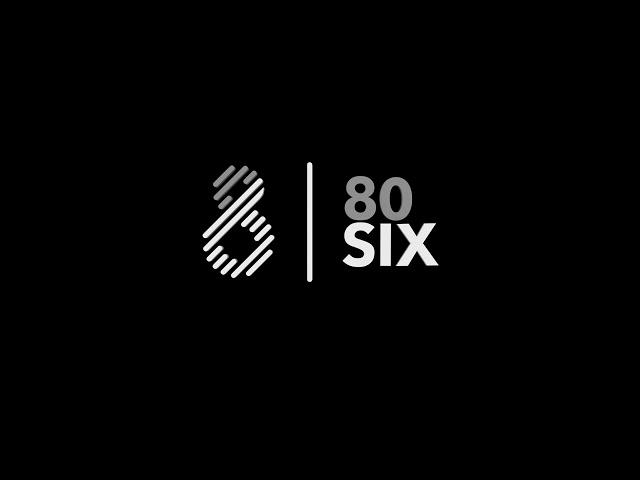 80Six Ltd Logo Animation Design