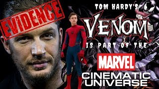 EVIDENCE: Tom Hardy's VENOM is Part of the MCU!