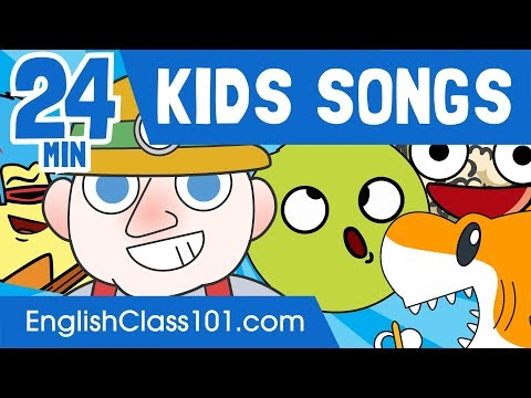 24 Minutes of Kids Songs in English! - Learn English
