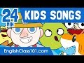 24 minutes of kids songs in english learn english mp3