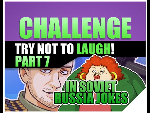 Yo Mama - In Soviet Russia Jokes  w/ Crazy Russian Hacker Reaction | Try Not To Laugh Challenge