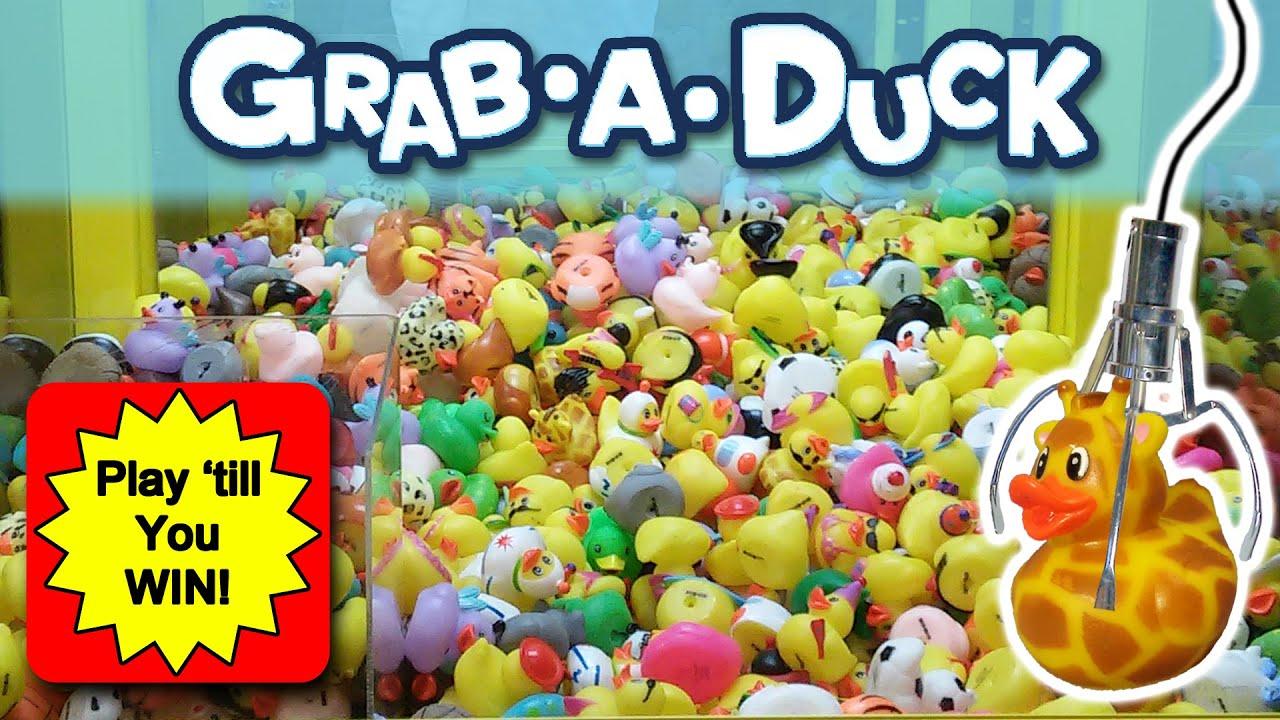 grab a duck claw machine