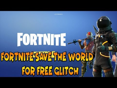 *NEW* WORKING FORTNITE SAVE THE WORLD FREE GLITCH GUIDE - Fortnite: Battle Royale