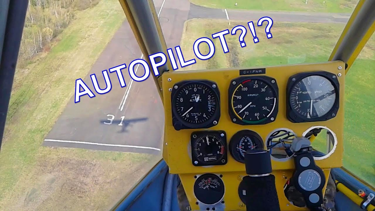 Autopilot in an Ultralight!?!