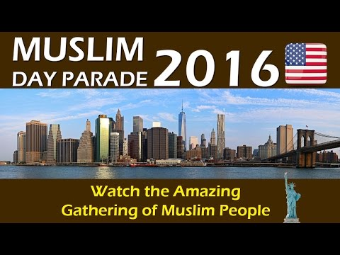 Muslim Day Parade 2016- coverage by Raham Tv