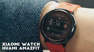 Умные часы от Xiaomi: полный обзор, отзыв. Xiaomi Huami Amazfit обзор на русском.