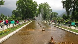 Full HD Video Of Shalimar Bagh, Srinagar, Kashmir, India