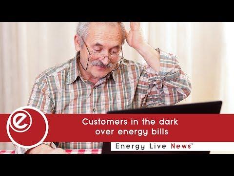 Customers in the dark over energy bills