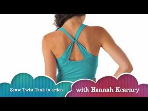 Sense Clothing | The Twist Tank w/ Hannah Kearney
