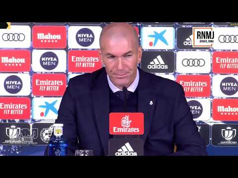 Rueda de prensa de ZIDANE post Real Madrid 3-4 Real Sociedad (06/02/2020)