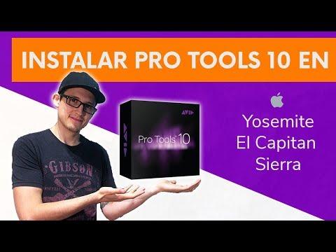 Instalar Pro Tools 10 En Yosemite El Capitan Sierra