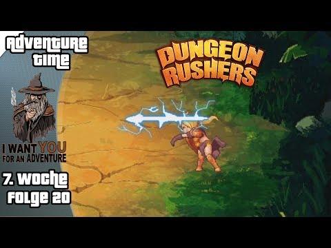 DUNGEON RUSHERS #20 - Odessa, Königin der Amazonen ► Adventure-Time #9 [7. Woche]