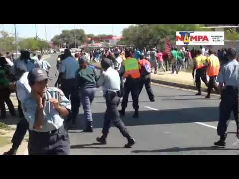 NAMPA: WHK Nampol stopped marching liberation struggle kids.05 March 2013