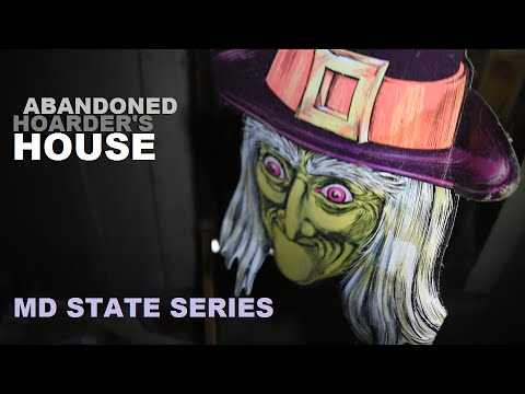 CREEPY ABANDONED HOUSE FILLED WITH ANTIQUES (MD STATE SERIES)