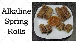 Spring Rolls Dr.Sebi Alkaline Electric Recipe