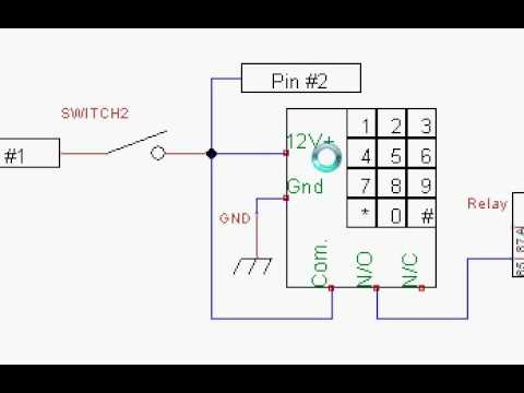 Wiring Diagram of 240sx Keypad+push Button Start