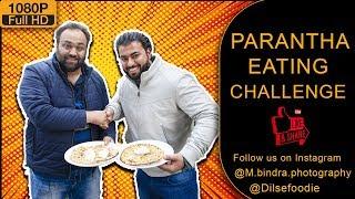 Parantha Eating Challenge At kake Da Hotel, Ashok vihar