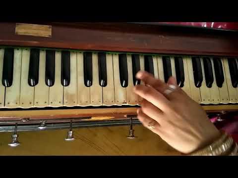 Wah shakti hume do dayanidhe harmonium tutorial