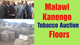 Malawi Kanengo Tobacco Auction Floors  | NyasaTV