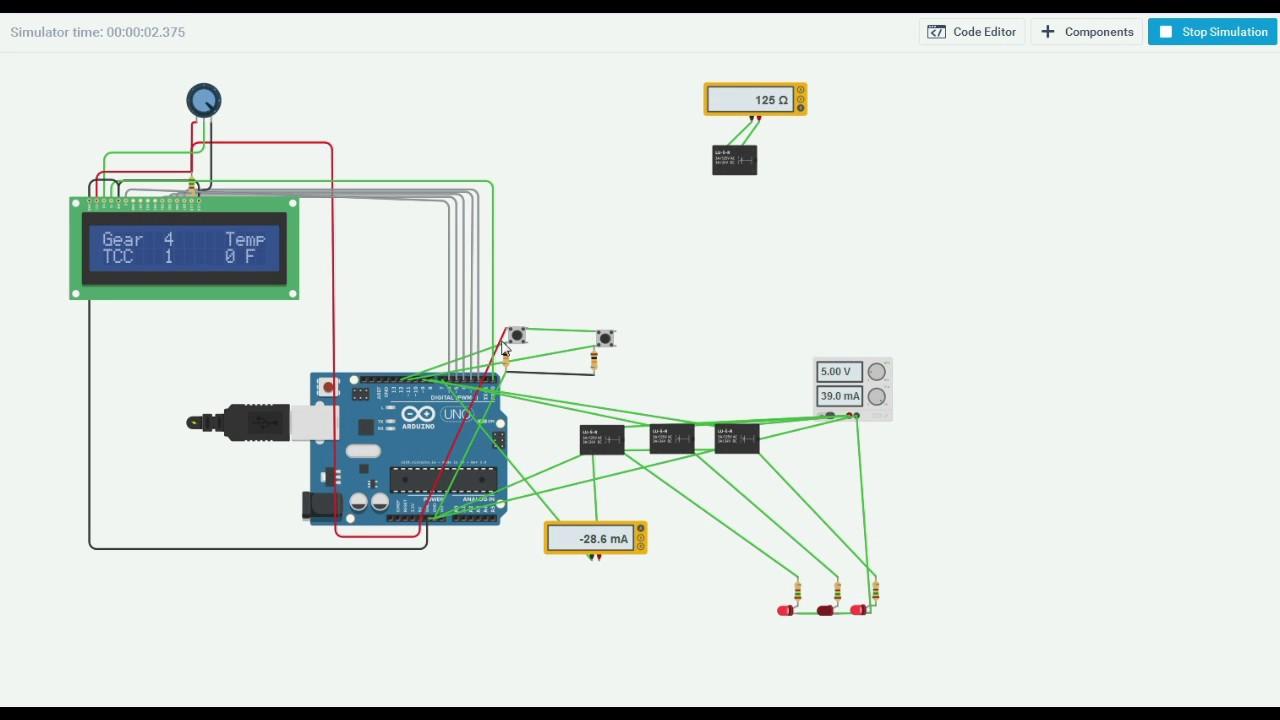 4l60E Custom Arduino Transmission Controller Part 2