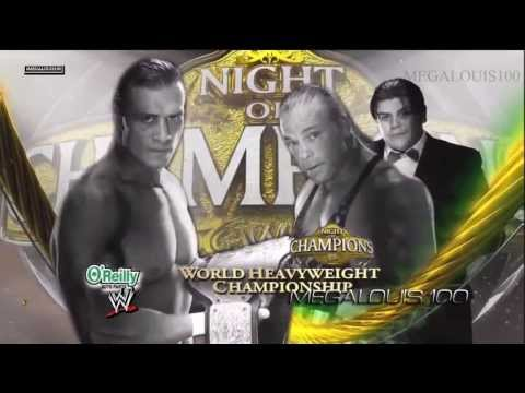 WWE Night of Champions 2013 Full (Complete) Match Card - 720p - HD