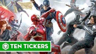 Top 10 bộ phim Marvel đáng xem nhất   Ten Tickers No.4 (REMAKE)