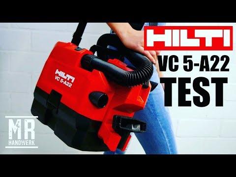 Der NEUE Akku Staubsauger HILTI VC 5-A22    Was kann er wirklich ? EXTREM TEST !