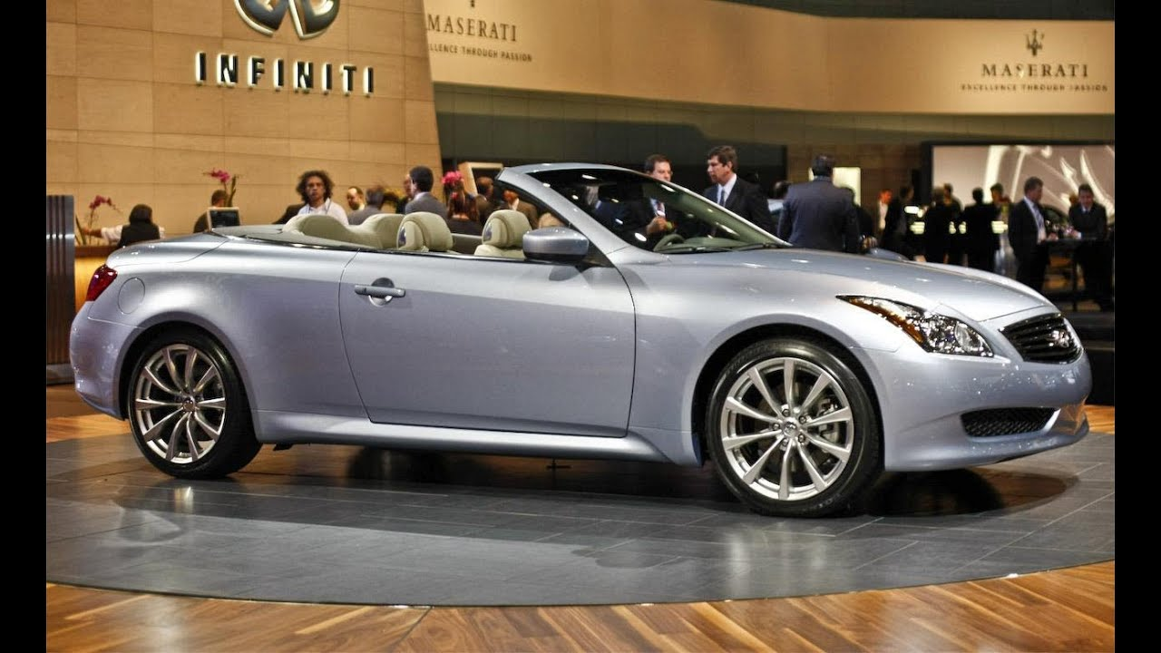 2009 infiniti g37 convertible 2009 geneva auto show car and 2009 infiniti g37 convertible 2009 geneva auto show car and driver youtube vanachro Choice Image