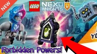 LEGO Nexo Knights ALL FORBIDDEN POWERS in NEW 2017 Sets!