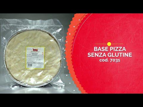 Base para pizza sin gluten