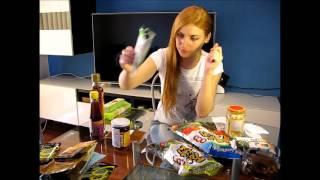 Пробуем зеленые чипсы Нори, маринованные стебли лотоса и не только. Часть 1
