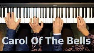 Скачать Carol Of The Bells Piano4handsCover Schedryk Щедрик в 4 руки GloriaMusicAcademy