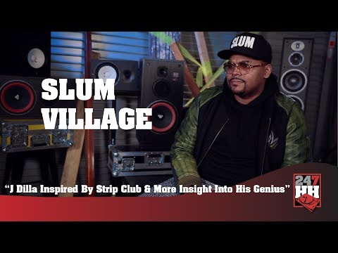 Slum Village - J Dilla Had Everybody At The Strip Club (247HH Exclusive)