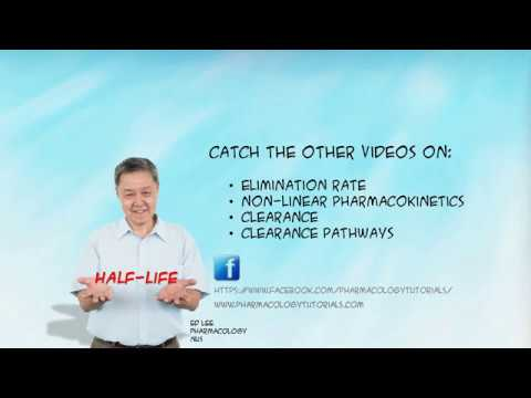 The Pharmacokinetics series: Determinants of Elimination Half-life