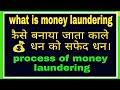 Money laundering!! What is money laundering!!  Illegal income into legal income
