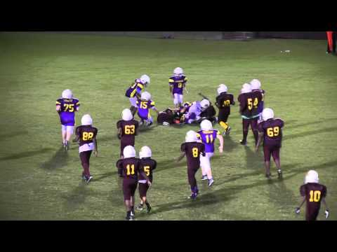 Blackville-Hilda Hawks  (Small Fry) vs. Branchville Yellow Jackets - 2015