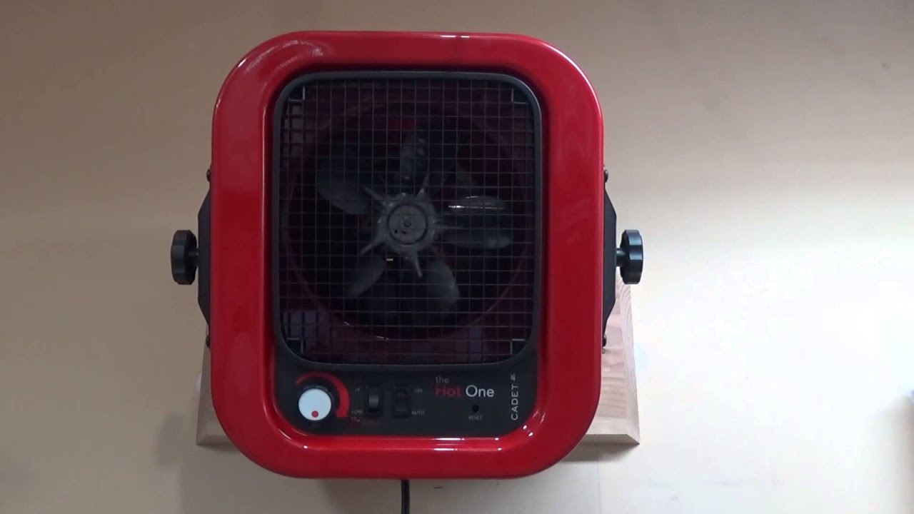 cadet hot one heater review