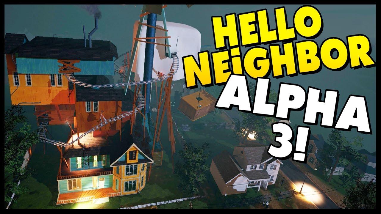 The hello neighbor house - Hello Neighbor Huge House Neighbor Is Evil Alpha 3 Update Hello Neighbor Alpha 3 Gameplay Youtube