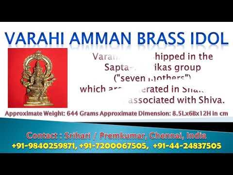 Goddess Varahi Devi<br><iframe title=