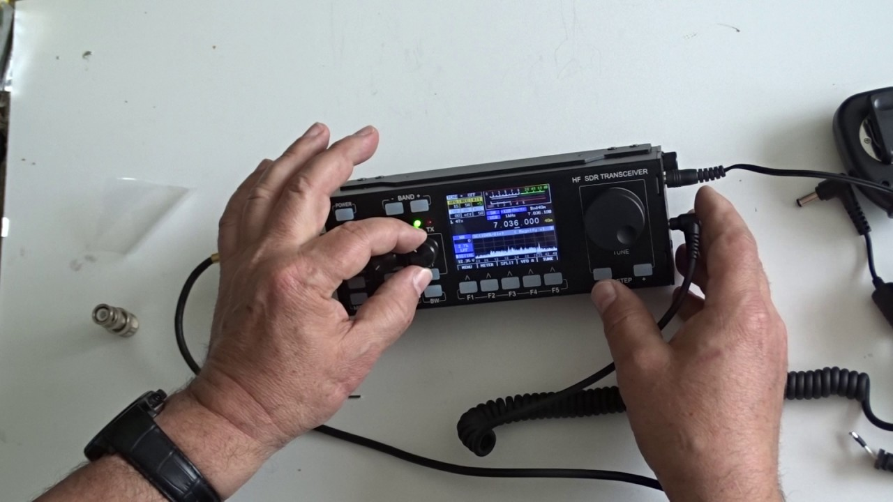 RECENT RS-918SSB HF SDR Transceiver 0 5-30MHz Ham Mobile Amateur CB