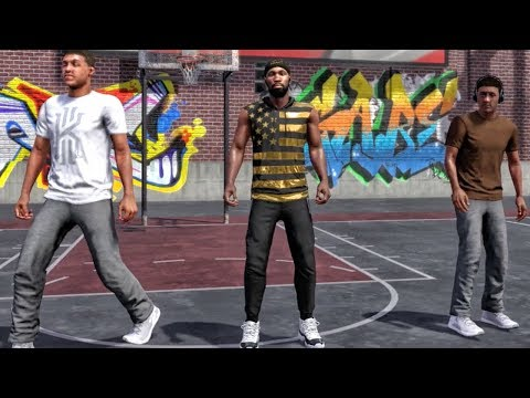 NBA 2K18 MYPARK GAMEPLAY! Dominating in 1st Appearance With Randoms