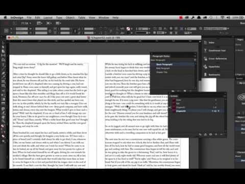 Creating Book Using Adobe Indesign Cc2014