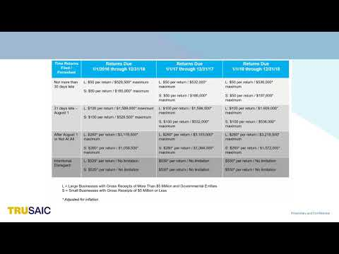 How are 6721 6722 Penalties Assessed - Webinar - Trusaic