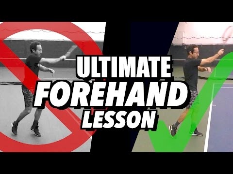 ULTIMATE Forehand Tennis Lesson - Consistency + Spin