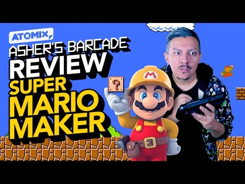 REVIEW Super Mario Maker - Asher's Barcade