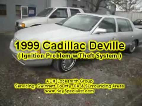Atlanta Ga 1999 Cadillac Deville Ignition System Problem Repaired You