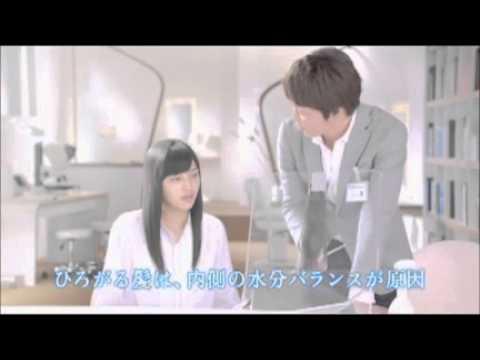 川口春奈 パンテーン CM スチル画像。CMを再生できます。