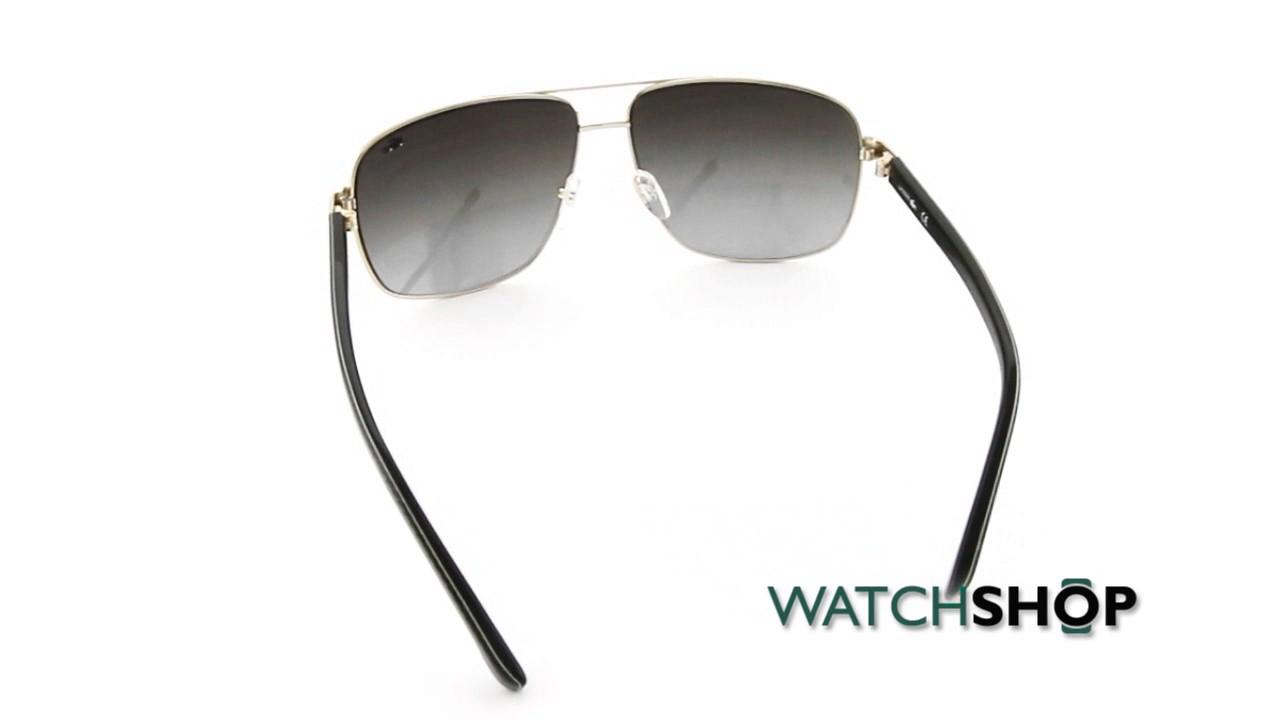 d68923a5fec151 Lacoste L162S Sunglasses (L162S-714) - YouTube
