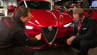 Zagame Alfa Romeo look at the features of the stunning Giulia.