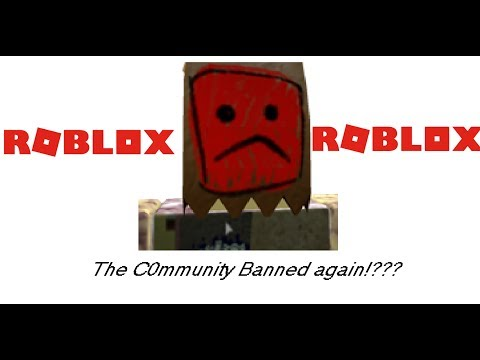 TheC0mmunity Banned on ROBLOX? Again...